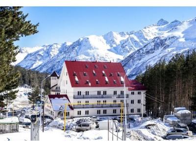 Отель Альпина Азау | Территория , внешний вид