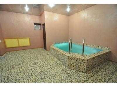 Отель Альпина Азау |сауна с бассейном